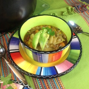 Sourth of the Border Chicken Soup