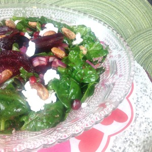 Spinach Salad A