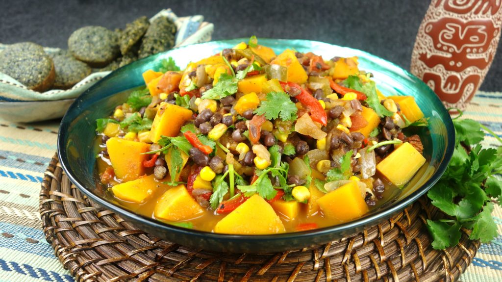 Native American Quot Three Sisters Quot Stew With Blue Corn Bread Food For Your Body Mind And